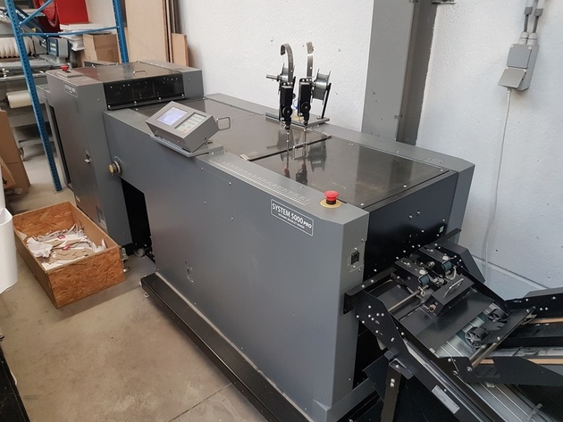 V297  DUPLO 5000 PRO Dynamic Booklet Maker (year 2011)