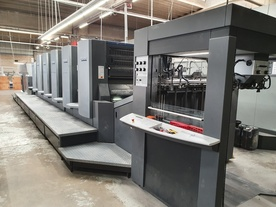 D576  HEIDELBERG CD102-5+LX with PPF + PPD  (Year: 2005)